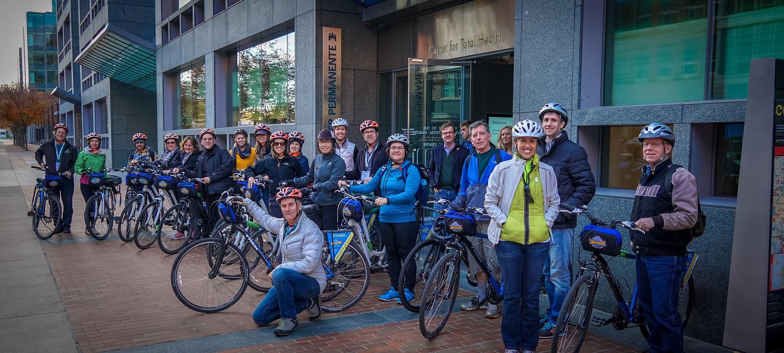 2015 Greenbuild Tour Bike DC- Transit, Health, and Gardens Kaiser Permanente Center for Total Health  00238