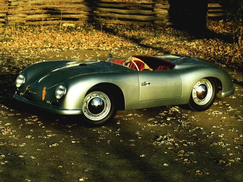 Porsche 356 Reutter Speedster. 1954 - 1955 годы
