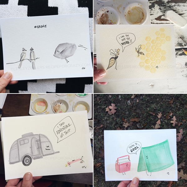 pun cards by lesley zellers