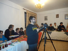 Οι γυναίκες της Ψίνθου παρουσιάζουν εδέσματα και προϊόντα του χωριού στην τηλεόραση ΘΑΡΡΙ