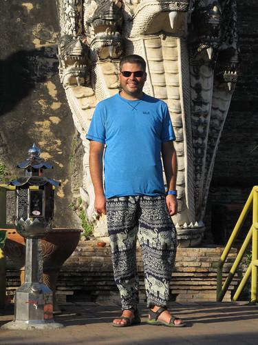 Le nouveau pantalon de Mister J