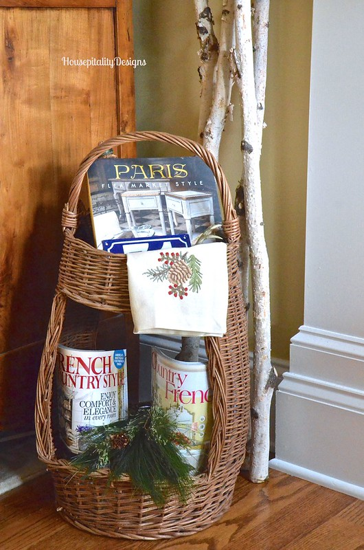 French Wine Picnic basket - Housepitality Designs