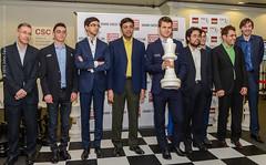 Mickey Adams, Fabiano Caruana, Anish Giri, Vishy Anand, Veselin Topalov, Magnus Carlsen, Hikaru Nakamura, Vachier-Lagrave, Alexander Grischuk