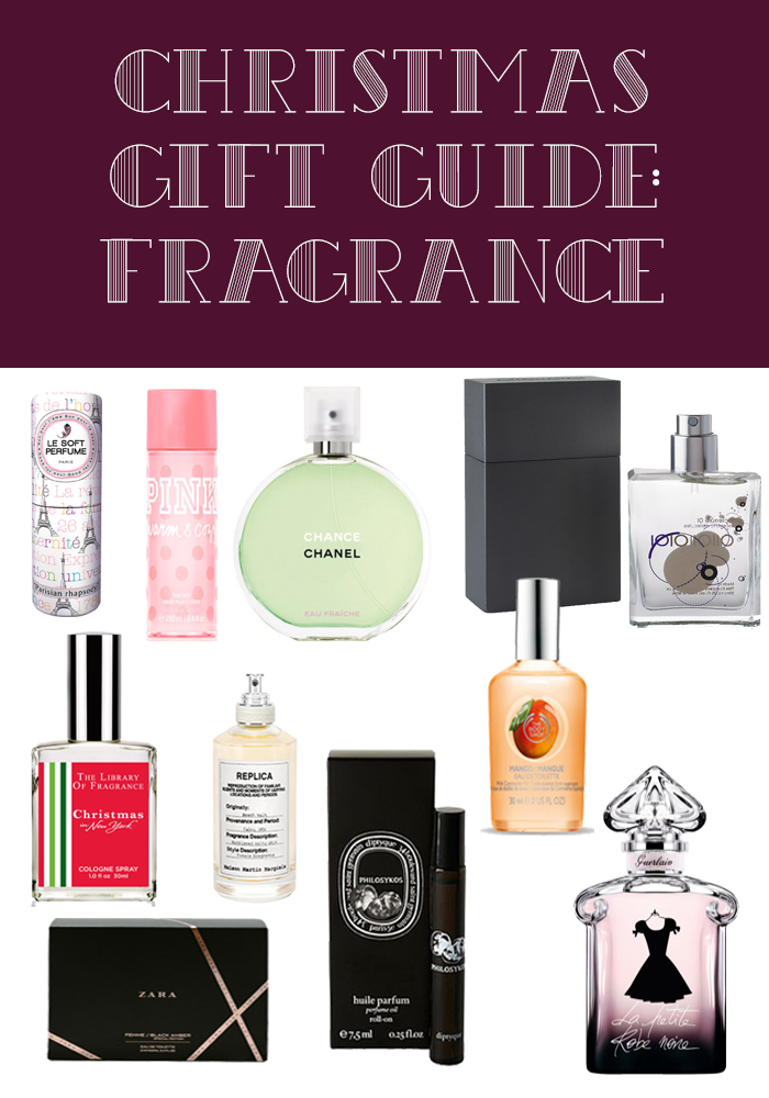 Christmas Gift Guide: Fragrance