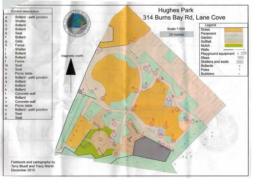 Hughes Park O map