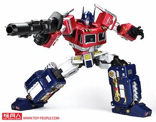 過癮的巨型尺寸、靈活又穩定的可動性!Toys Alliance Mega Action 巨大可動系列 MAS-01 柯博文 開箱報告
