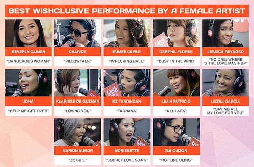 wishclusive performance by a female artist
