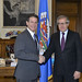 Secretary General Meets with Secretary of State of Puerto Rico