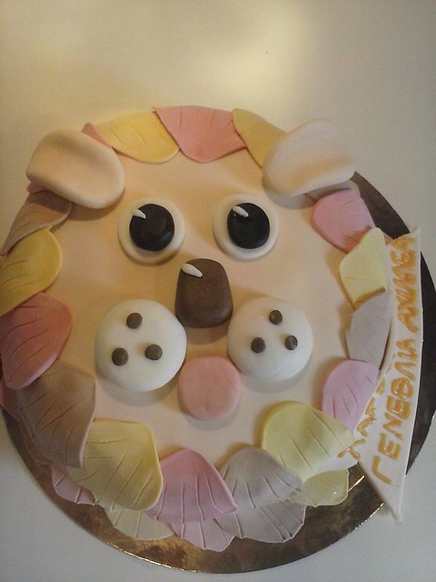 Lion Cake by Julie's Frosting