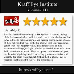 Best Lasik Chicago IL - Kraff Eye Institute (312) 444-1111