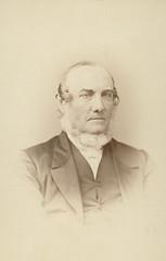 Rev E K Miller, circa 1875.