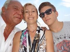 Letojanni - Ieri sera  a cena da Nina e Lorino