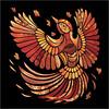 Autumn Bird / Птица-осень by Greenfinchh