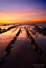 sunset in barrika beach by Mimadeo