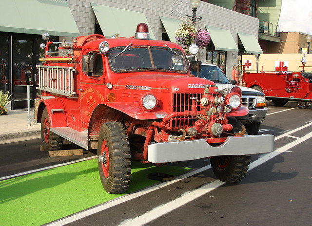Bedford Township, MI, Fire Truck