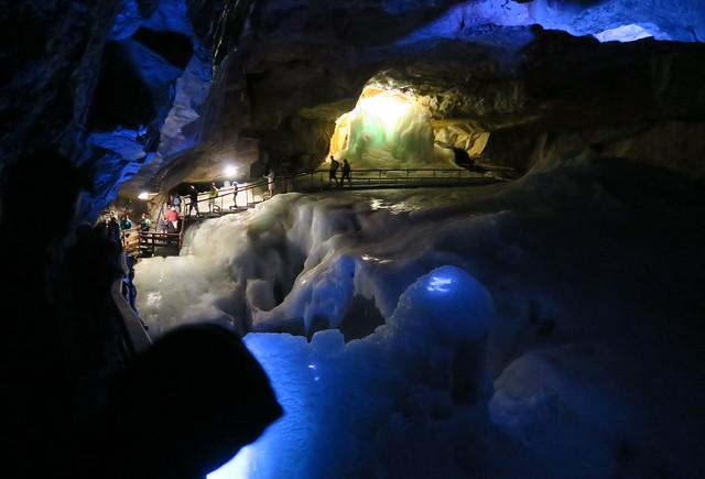Dahšteinas Ledus alas izeja