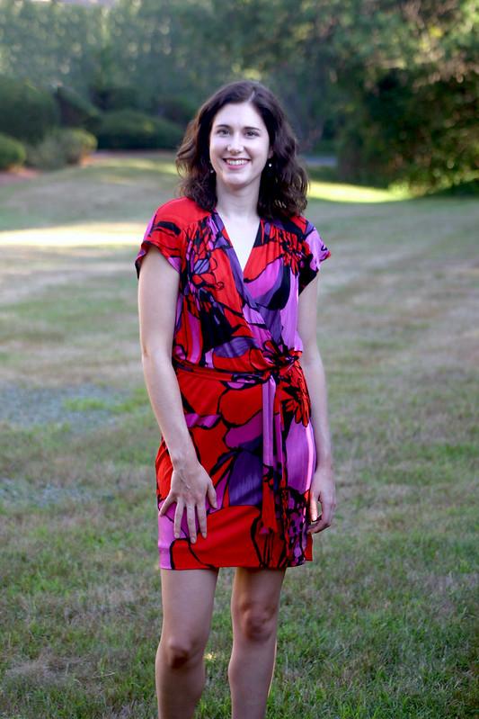 silk tieback dress 2