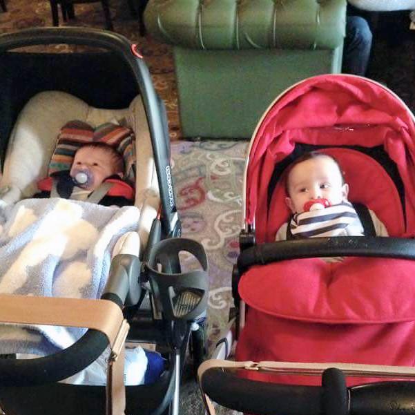Zach and Theo Tiny