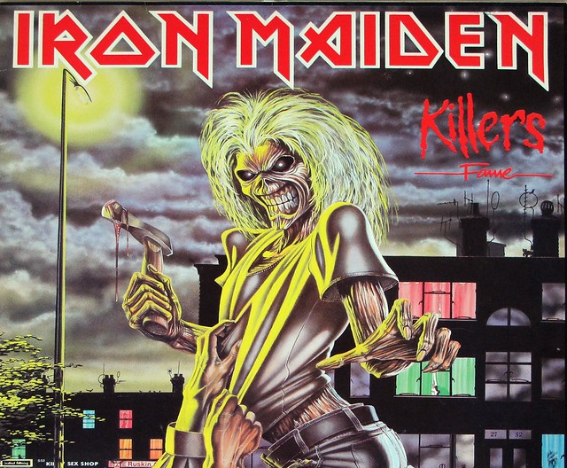 "IRON MAIDEN Killers Fame Germany 12"" LP VINYL"