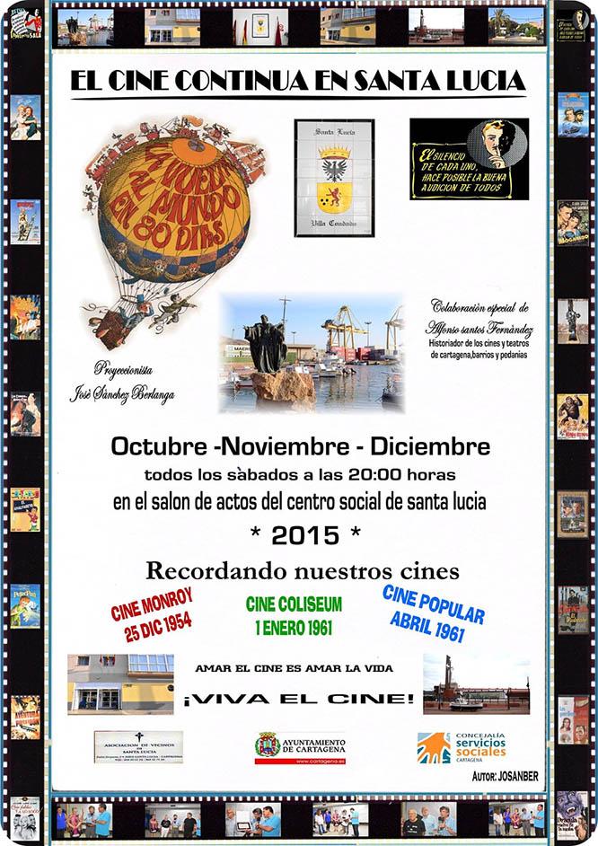 Sigue el cine en Santa Lucía en otoño