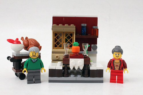 LEGO Seasonal Thanksgiving Feast (40123)