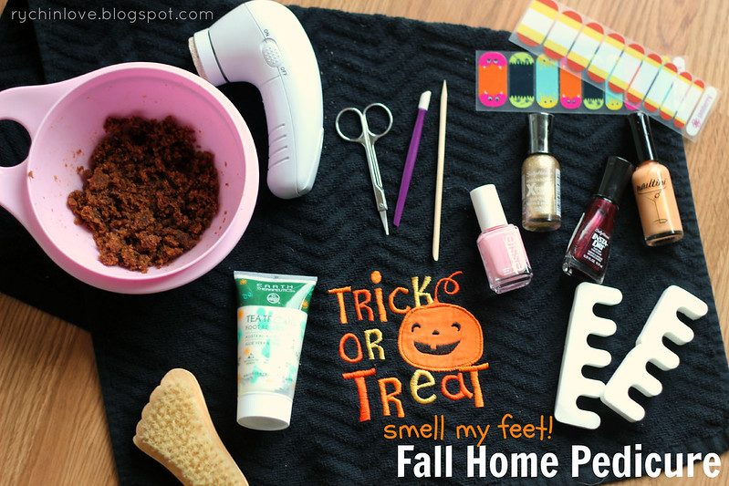 Trick or Treat Smell My Feet Fall Pedicure