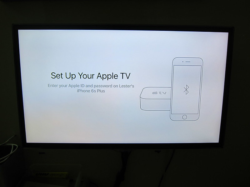 Apple TV (4th Generation) - Setting Up