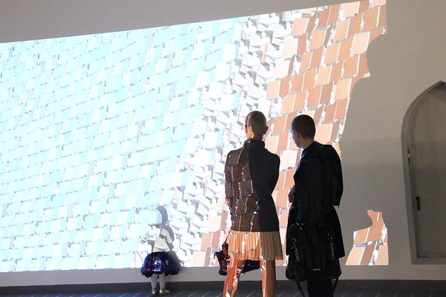 Пространство диффузии. Открытие выставки 11.09.2015