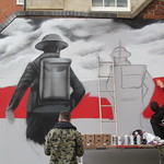 Remembrance Day mural