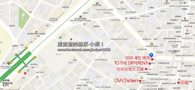 昭福弘大店地圖