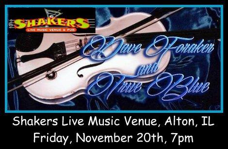 Dave Foraker & True Blue 11-20-15