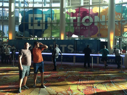 ProfitBricks Team Arriving at IT Nation 2015 Orlando Florida