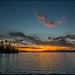 Opeongo Sunset by Rodrick Dale
