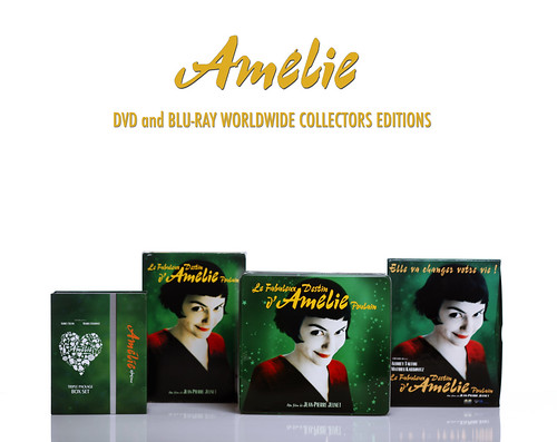Amelie dvd/blu-ray Worldwide Collection