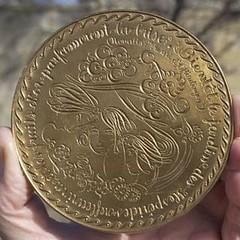 Jean Marcel Rebus medal obverse