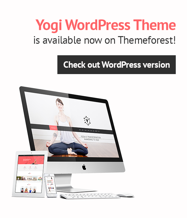 Yogi Health Beauty & Yoga WordPress Theme
