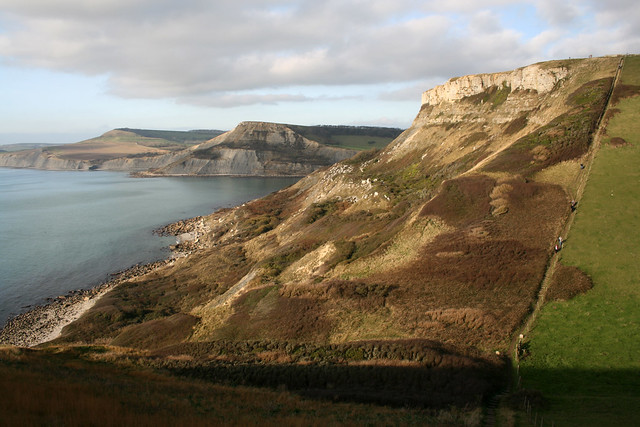 Coast path near St Aldhelm's Head