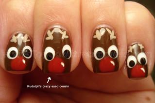 nails-reindeer