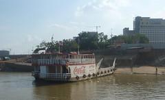 Coke Ferry across the Mekong