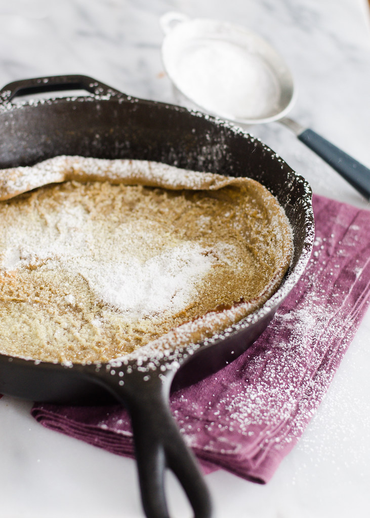 Gingerbread Dutch Baby Recipe | Buttered Side Up