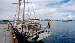 Stavanger, Norway.  Klaipėda University sailboat 'Brabander'- DSC08793
