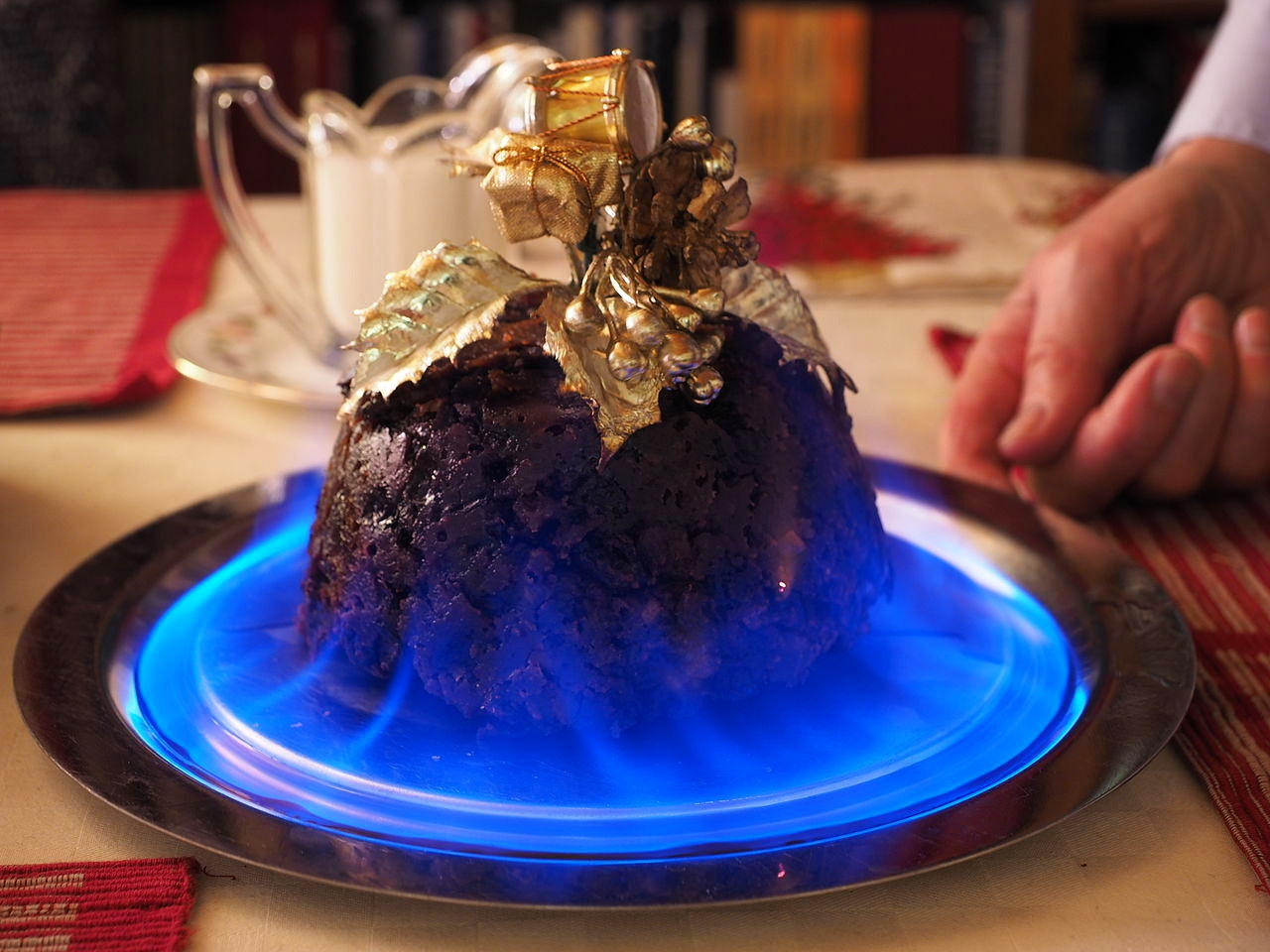 Christmas Pudding. Credit James Petts