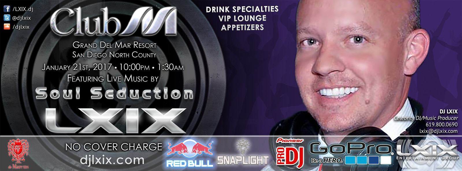 LXIX at Club M with Soul Seduction