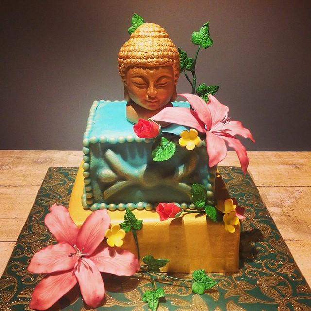 Buddha Cake by Sadija Van T Land of Taarten & Cupcakes van Multicake.nl