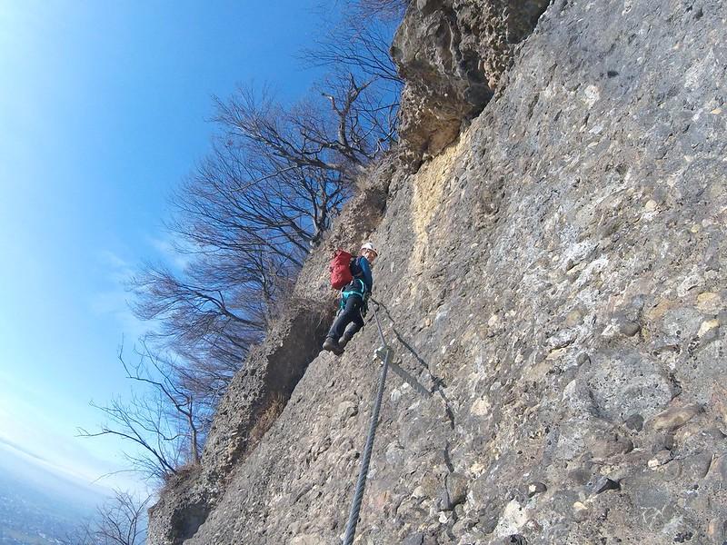 Klettersteig Känzele : Känzele klettersteig else