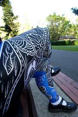 Indigenous Print Leggings