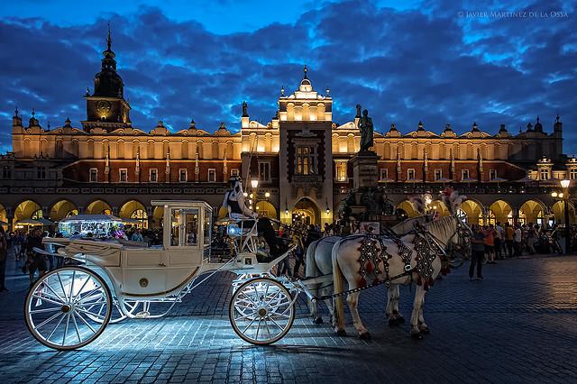 Plaza del Mercado de Cracovia.