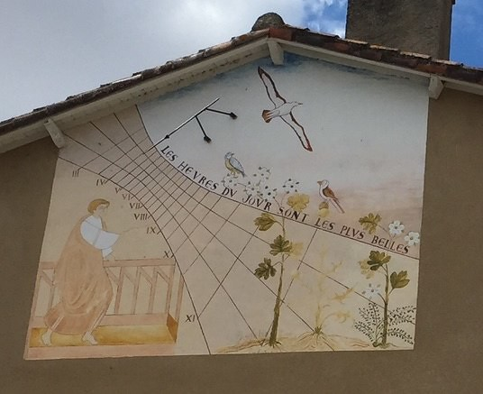 Sundial Saint-Savin