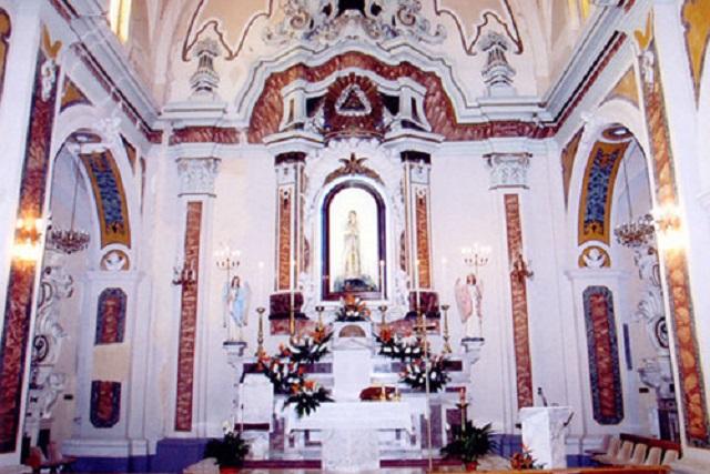Noicattaro. La Chiesa dell'Immacolata front