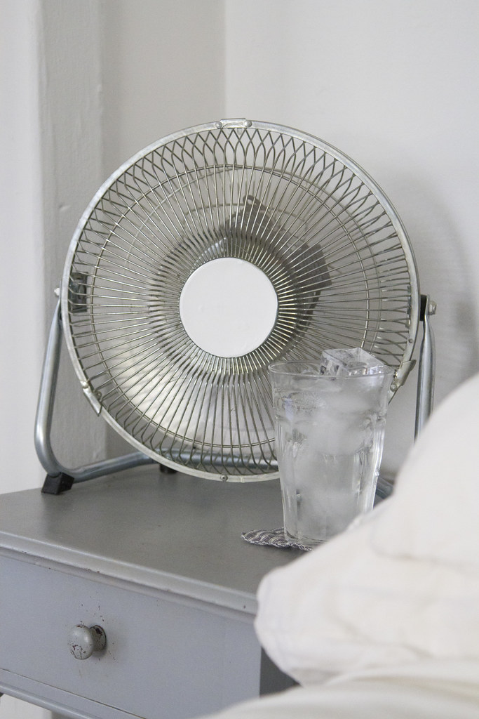 life in a tiny apartment: no A/C | reading my tea leaves
